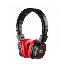 RITMIX RH-480BTH Гарнитура Bluetooth+ кабельное подключение + встроенный FM-приемник, MP3-плеер,MicroSD/MicroSDHC, красный