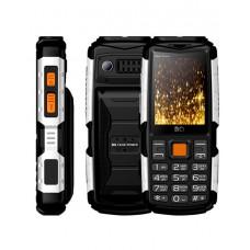 Мобильный телефон BQ-2430 Tank Power Чёрный+Серебро