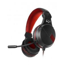 SVEN AP-G828MV Игровые наушники с микрофоном черный-красный