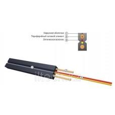 Кабель волоконно-оптический ОКНГ-Т-С1-0.4 (В/Т2) с двумя металлическими проволоками
