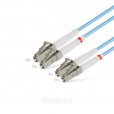 Патчкорд LC/UPC-LC/UPC MM OM3 Duplex 2,0mm - 1М