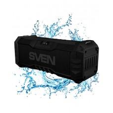 SVEN PS-430, черный, акустическая система 2.0, Bluetooth, FM, USB, Waterproof (IPx5), LED-дисплей