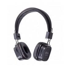 RITMIX RH-480BTH Гарнитура Bluetooth+ кабельное подключение + встроенный FM-приемник, MP3-плеер,MicroSD/MicroSDHC, черный