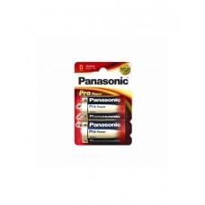 Батарейка щелочная PANASONIC Pro Power D/2B