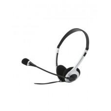 SVEN Headphones black-silver microphone АР-010MV