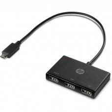 Репликатор портов HP Europe USB-C to USB-A Hub 3 x USB-A. (Z8W90AA#ABB)