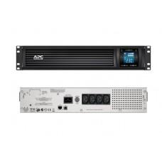 Источник бесперебойного питания APC Smart-UPS C 1000 ВA SMC1000I-2URS (Линейно-интерактивные, C возможностью установки в стойку, 1000 ВА, 600 Вт)
