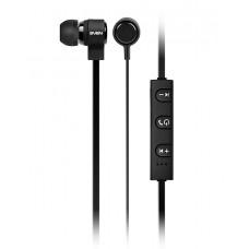 Беспроводные Bluetooth стерое наушники с микрофоном (earbuds) SVEN SEB-B265MV, black