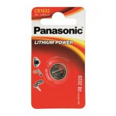 Батарейка дисковая литиевая PANASONIC CR-1632/1B