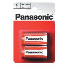 Батарейка солевая PANASONIC Red Zinc С/2B