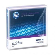 Ленточный носитель информации HPE LTO-6 Ultrium 6.25TB MP RW Data Tape C7976A (LTO-6, 1 шт, Без наклеек)
