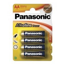 Батарейка щелочная PANASONIC Alkaline Power AA/4B