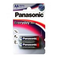 Батарейка щелочная PANASONIC Every Day Power AA/2B