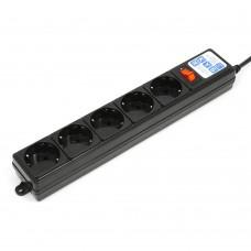 Сетевой фильтр Power Cube SPG-B-10-BLACK, 3 м.