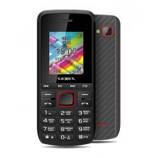 Мобильный телефон teXet TM-203 цвет черный-красный