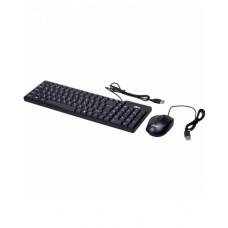 Проводной набор RITMIX RKC-010 Black клавиатура + мышь