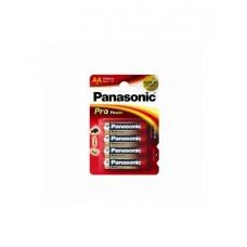 Батарейка щелочная PANASONIC Pro Power AA/4B