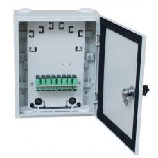 Оптическая распределительная коробка ОРК-16 (8 дуплексный адаптеров SC)